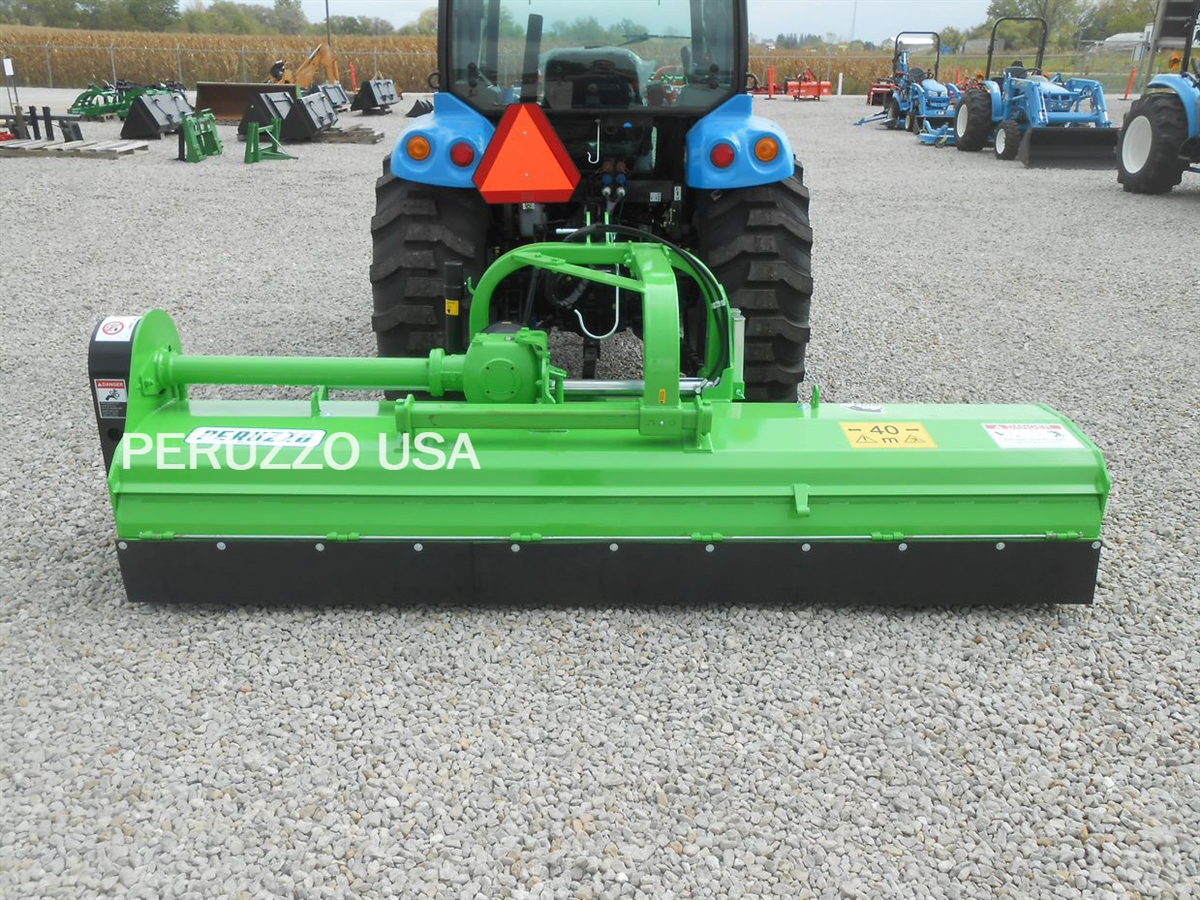 3-Point Hydraulic Flail Mower Offsetable: Peruzzo Bull 2400