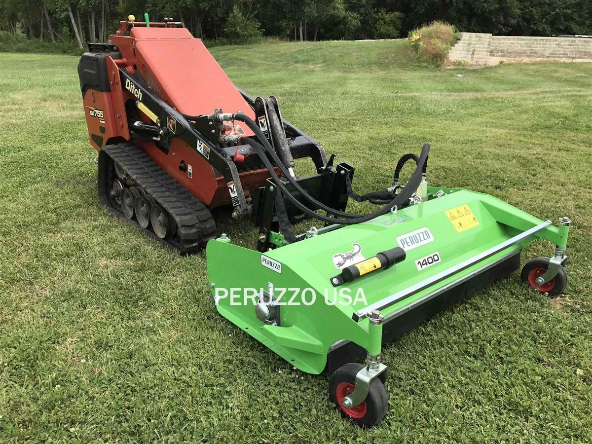 Mini Skid Steer Flail Mower: Peruzzo 55